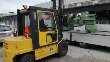 Popravila in obnova kovinskoobdelovalnih strojev